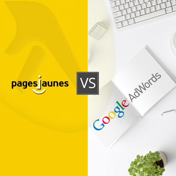 Pages Jaunes VS Google Adwords